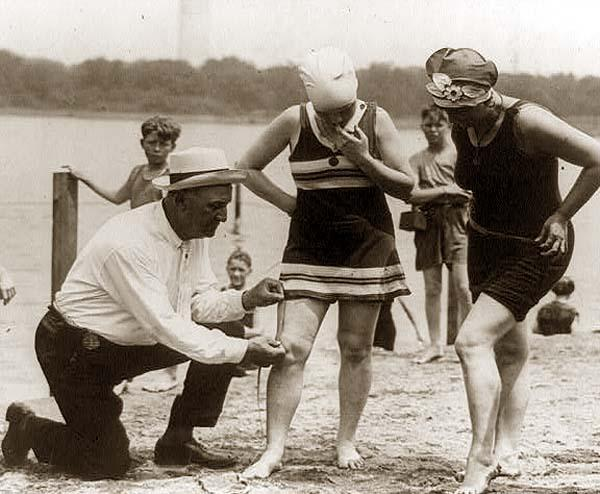 How dirty old men got their hands on loose beach babes in the early 20th century