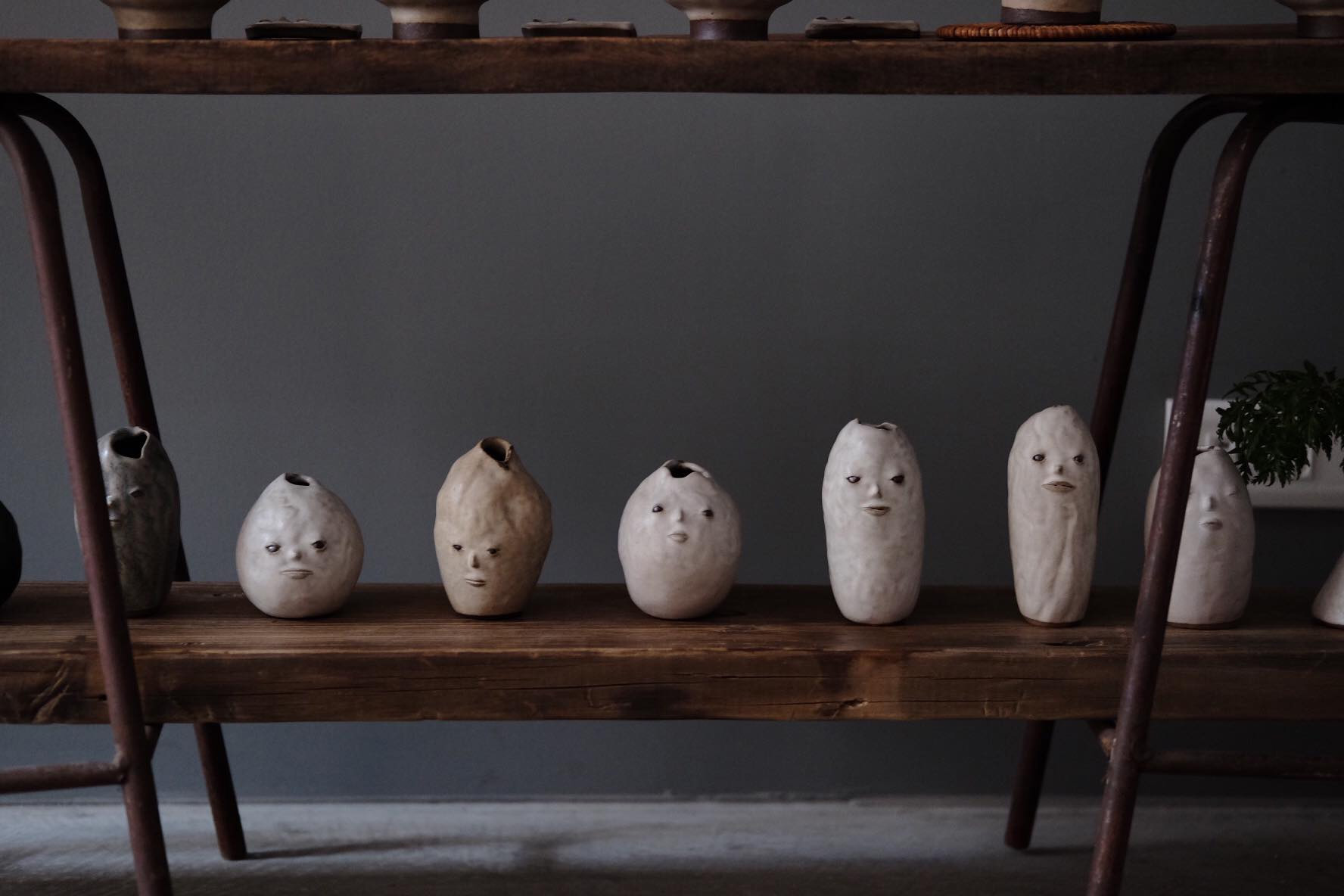 Faces Emerge from Minimalist Ceramics by Fan Yanting to Consider Emotional Depth