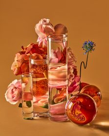 Glass Vessels Skew Florals in Illusory Photographs by Suzanne Saroff