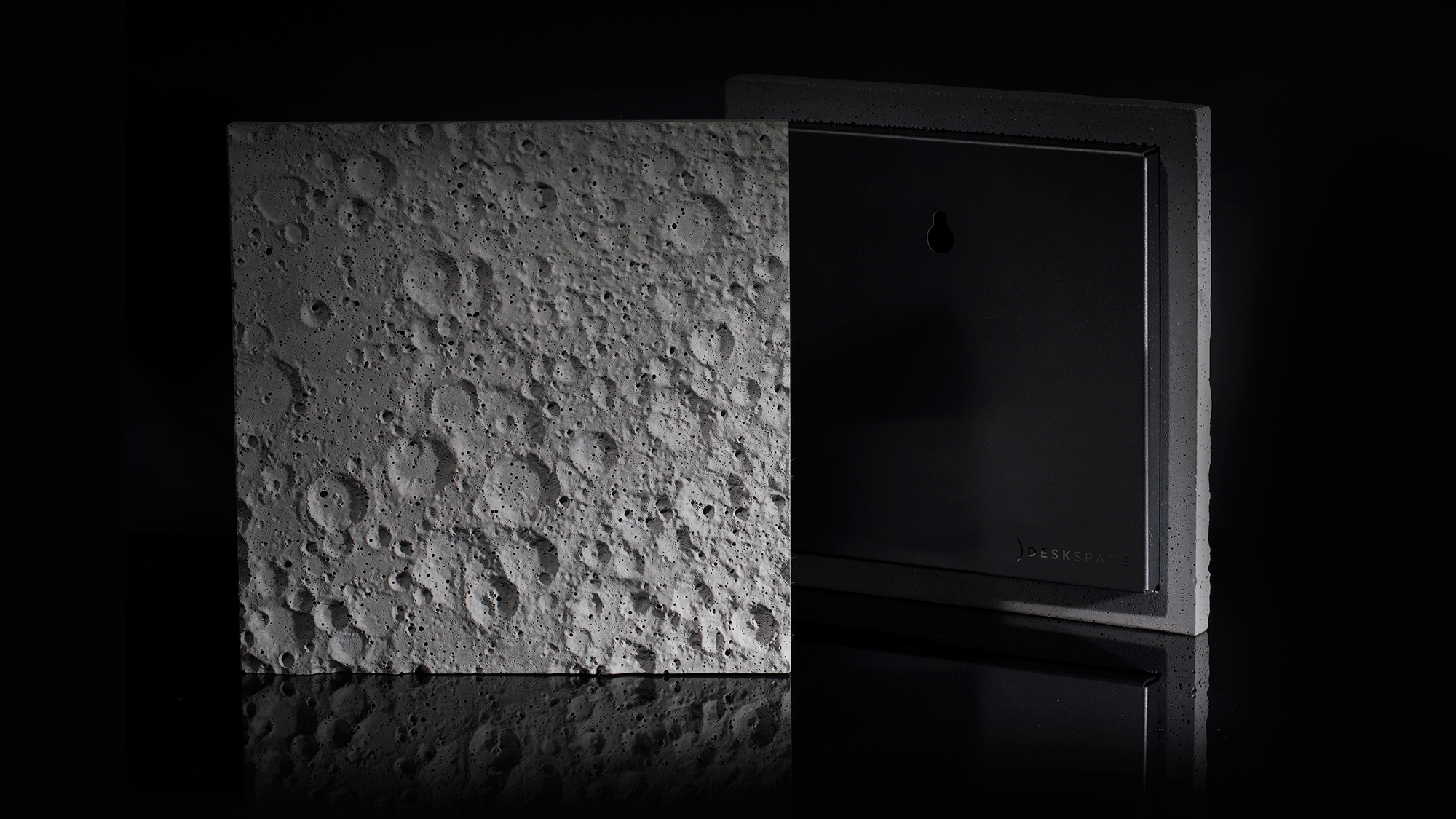Get a Meteorite-Speckled Slab of the Moon's Surface Made with NASA Data