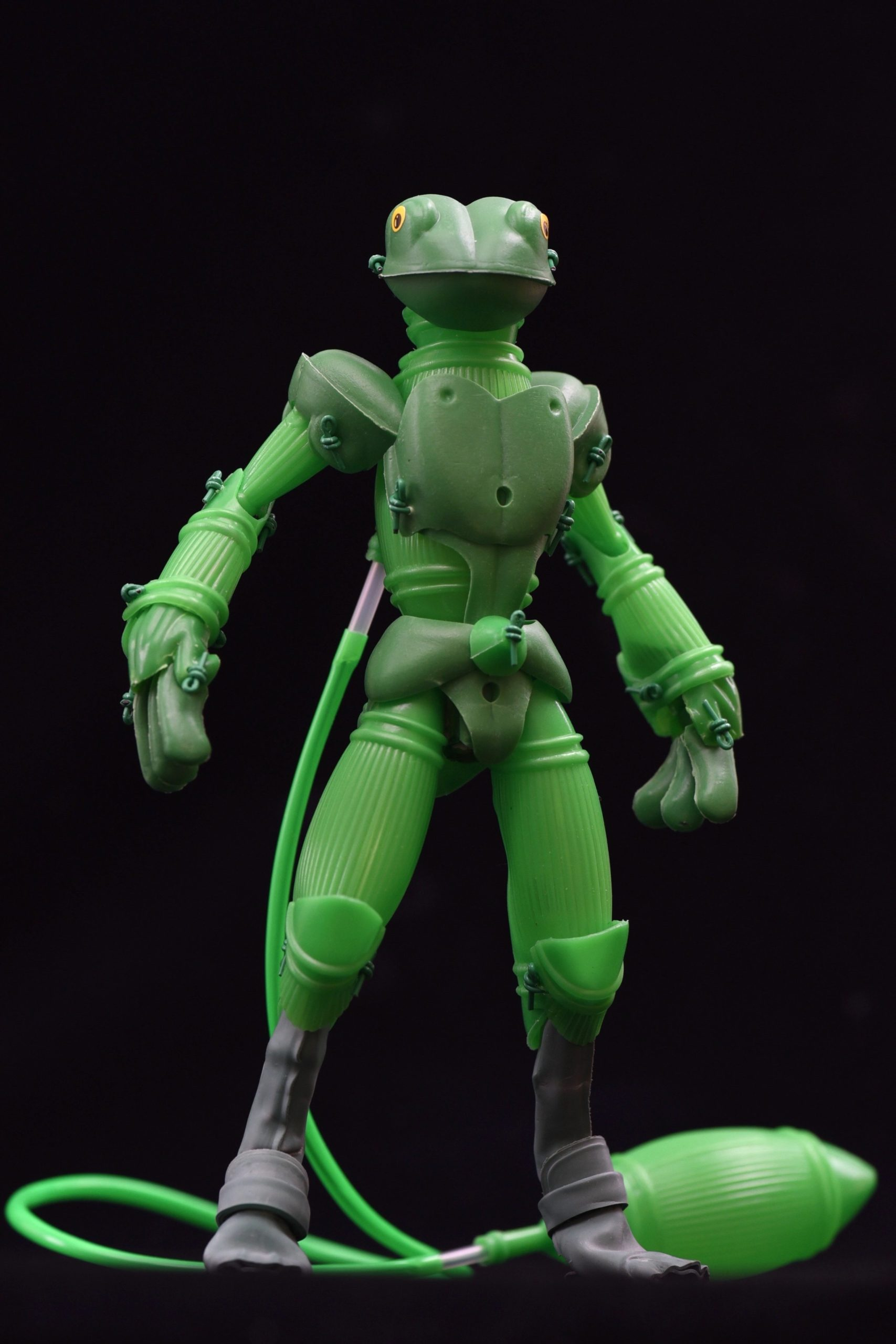 Inexpensive Toys Fashioned into Unique Action Figures by Artist Tomohiro Yasui