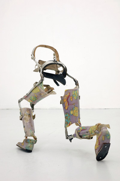 Berenice Olmedo's Sculptures Use Debris and Dog Caracasses to Honor Those on Society's Margins