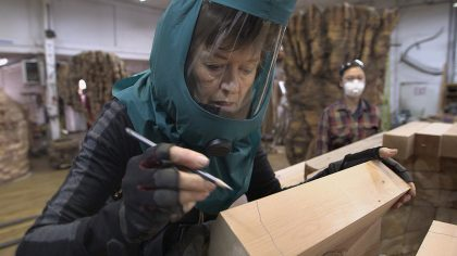 New Ursula von Rydingsvard Documentary Gives Insight to Process Behind Artist's Towering Sculptures