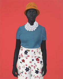 Remarkable Portraits by Artist Amy Sherald Render Subjects in Grayscale Against Vibrant Backdrops