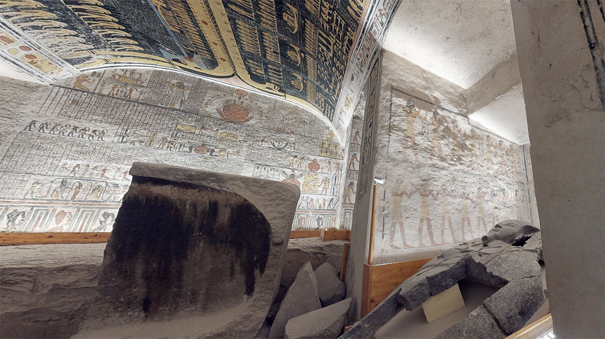 Descend into the Elaborately Decorated Tomb of Pharaoh Ramesses VI Through This 3D Virtual Tour