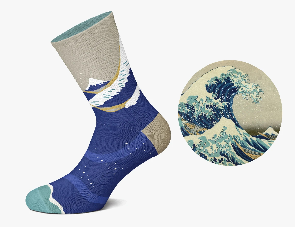 Grab a Pair of Socks Emblazoned with Masterpieces from Art History