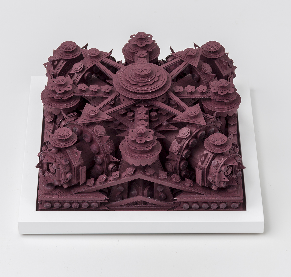 Myriad Layers of Intricately Cut Paper Construct Architectural Sculptures by Artist Michael Velliquette