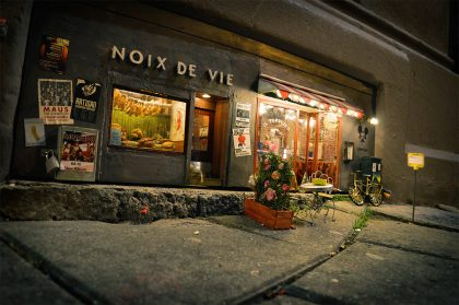 AnonyMouse Wedges Miniature Shops and Restaurants Built For Mice into Busy City Streets