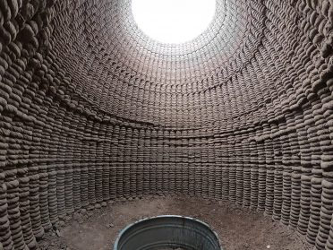 Utilizing Modern 3D Printing, Artistic Duo Rael San Fratello Constructs Coiled Earthen Architecture