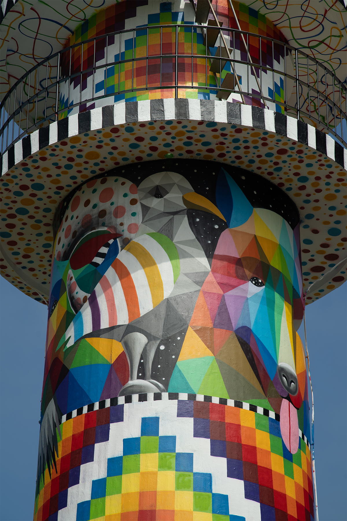 Okuda San Miguel Transforms a Stark Lighthouse in Spain into a Technicolor Beacon