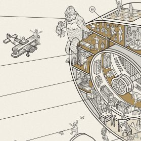 Inside Information: Cross-Sections of Retro Technology Reveal Historical Moments of Iconic Objects