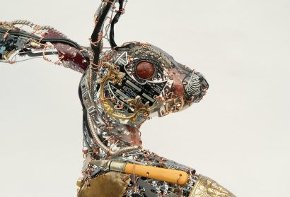 Recycled Scraps and Discarded Objects Are Fashioned Into an Eccentric Menagerie of Metal Animals