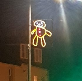 A Small Scottish Town Delegates the Annual Christmas Light Display to Its Youngest Residents