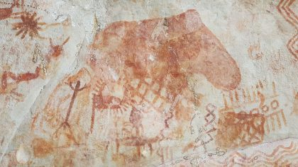 New Photos from the 'Sistine Chapel of the Ancients' Reveal Details About Prehistoric Amazonian Life—Like a Fondness for Bungee Jumping