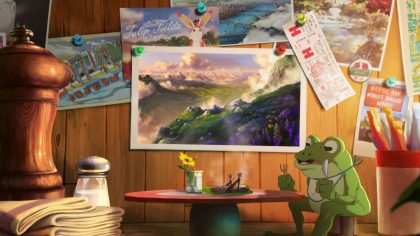 A Brilliant Studio Ghibli-Style Ad for Travel Oregon Imagines the State as an Adventurous Dreamland
