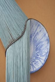 Loose Fibers Billow Out of Warped Ceramic Sculptures by Artist Nicole McLaughlin