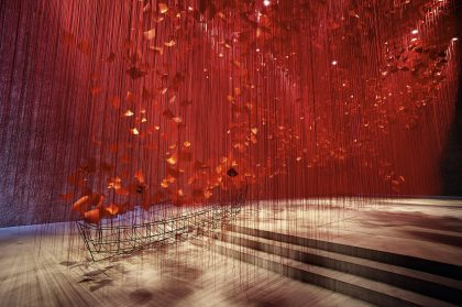 10,000 Letters Dangle from the Ceiling in an Immersive Installation by Artist Chiharu Shiota