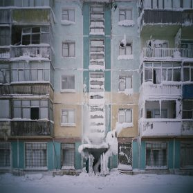 Staggering Photos Capture a Frozen Apartment Complex in Vorkuta, a Dwindling Russian City That's the Coldest in Europe