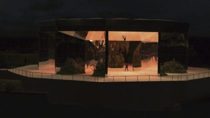 Ecologically Minded Doug Aitken Installation Plays Host to Saint Laurent Runway Show inVenice