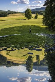 Sarah Sze Implants a Fragmented Installation of Individual Mirrors in a Lush Hudson Valley Landscape