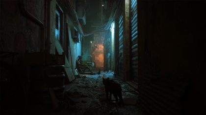In the New Video Game 'Stray,' Players Venture through a Decaying Cybercity as a Stealthy Cat