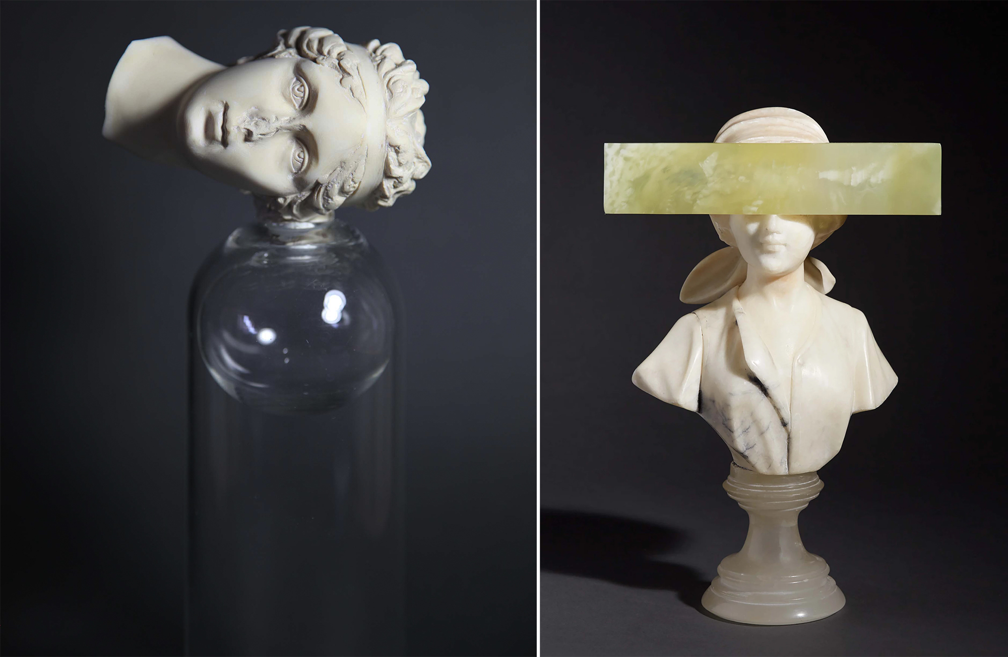 Unearthly Anatomical Works Sculpted in Crystal and Glass by Debra Baxter Explore Grief and Loss